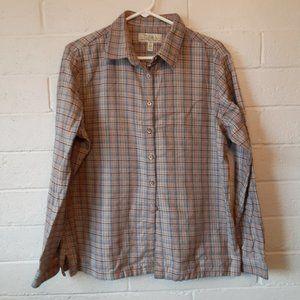 NWOT Woman's XL Cabela's Flannel Shirt